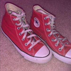 red high top converse